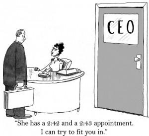 Hoe omzeil je de secretaresse? 10 tips