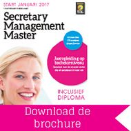 Download brochure Secretary Management Master