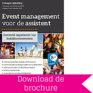 Download brochure Event Management