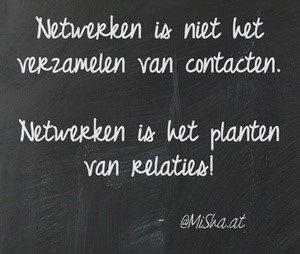 Netwerken - planten van relaties