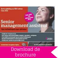 Download brochure Senior Management Assistent