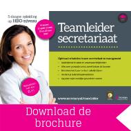 Opleiding Teamleider Secretariaat