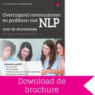 Download brochure NLP voor secretaresses