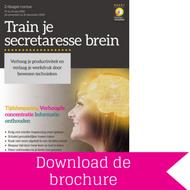 Download brochure Train je secretaresse brein