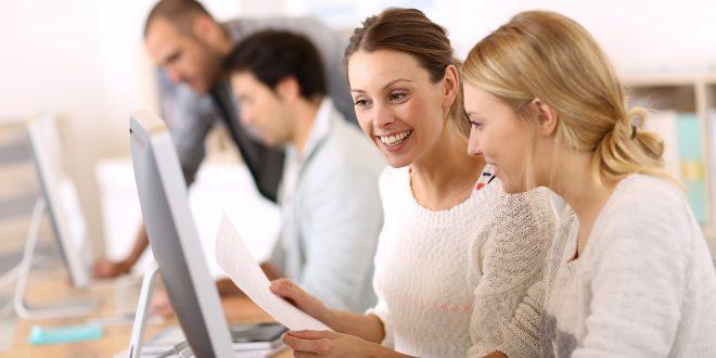 vrouwen computer