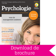 Opleiding Psychologie voor de Management Assistent