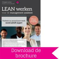 Download brochure LEAN werken