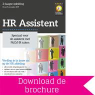 Opleiding HR Assistent - Download brochure