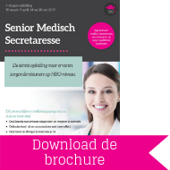 Download brochure Senior medisch secretaresse