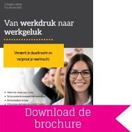 Download brochure van Werkdruk naar Werkgeluk