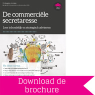 Brochure Commerciële Secretaresse